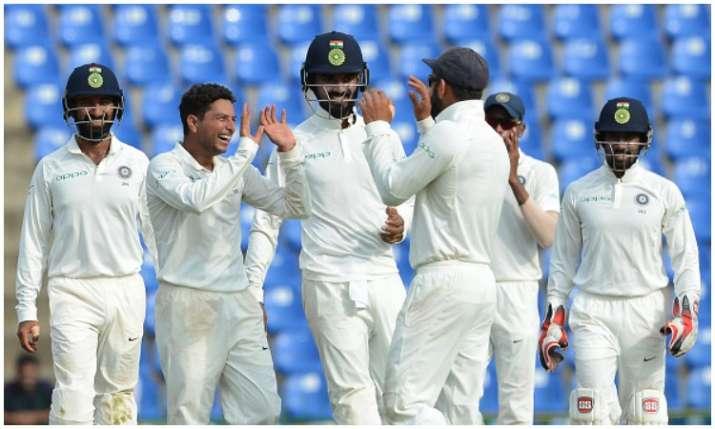 भारतीय टेस्ट टीम Photo:...- India TV