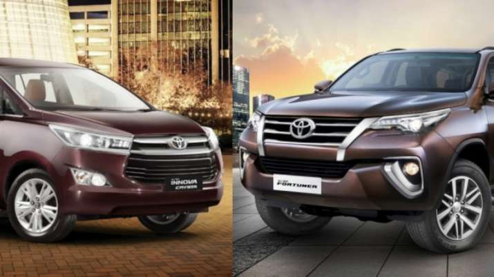 Innova Crysta and Fortuner- India TV Paisa