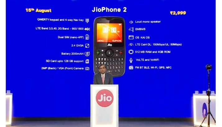 jio phone 2- India TV Paisa