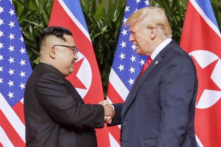 Donald Trump releases 'very nice' letter from Kim Jong Un | AP File- India TV