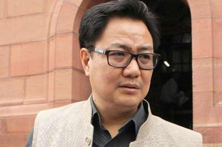 यदि एनआरसी कांग्रेस की देन, तो फिर विरोध क्यों: किरेन रिजीजू- India TV