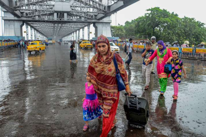 kolkata rain- India TV