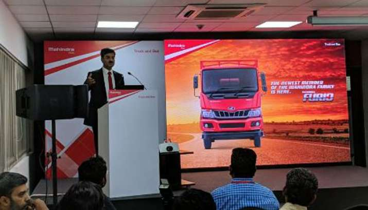 Mahindra unveils Intermediate Commercial Vehicles FURIO- India TV Paisa