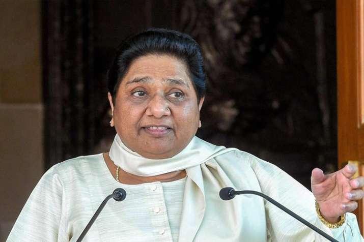 भाजपा और संघ की विभाजनकारी नीतियों का परिणाम है एनआरसी प्रकरण: मायावती- India TV