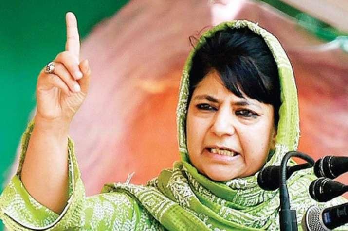 पीडीपी को तोड़ने की कोशिश हुई तो घाटी में पैदा होंगे कई सलाउद्दीन: महबूबा मुफ्ती- Khabar IndiaTV