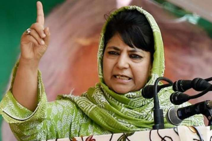 जम्मू-कश्मीर: मुश्किल में महबूबा, स्थापना दिवस पर खुलकर सामने आ गई PDP की बगावत   PTI- India TV