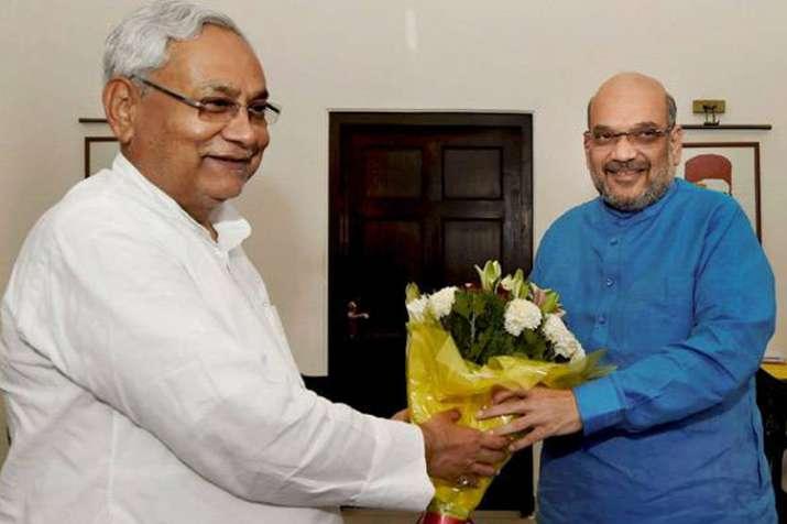 बिहार: अमित शाह और नीतीश कुमार के बीच मुलाकात आज, 2019 के चुनाव को लेकर होगी बात- India TV