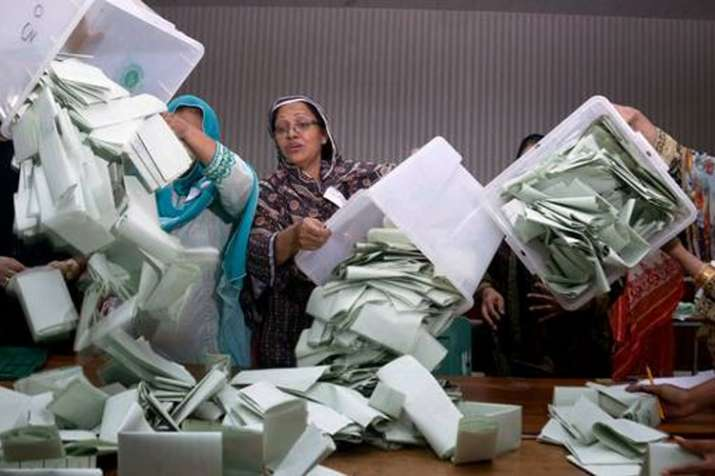 Pakistan Election Results: Empty ballot boxes found by roadside in Karachi and Sialkot | AP Represen- India TV