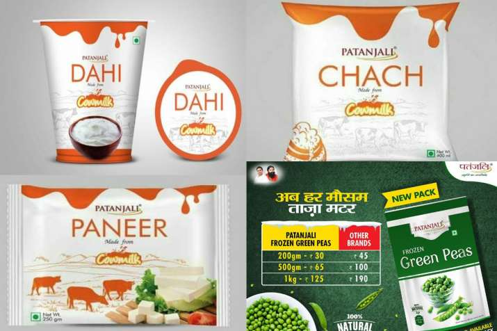 Patanjali launches new products in dairy and frozen food segments- India TV Paisa