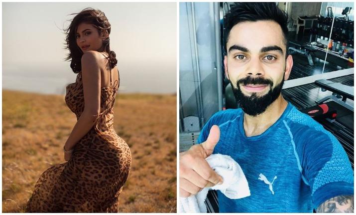 कोहली और काइली जेनर- Khabar IndiaTV