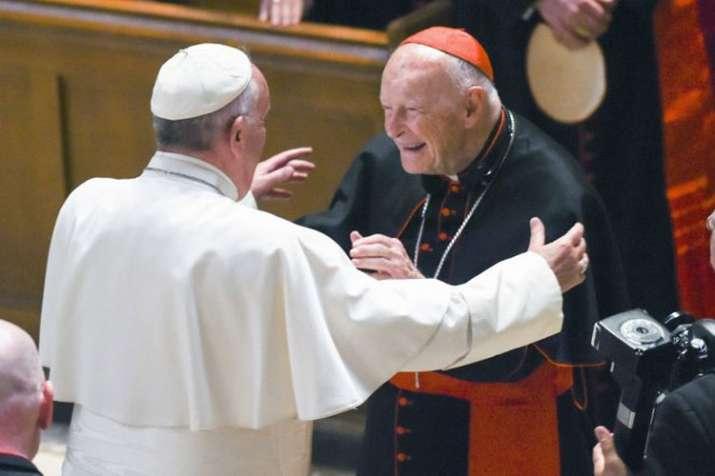 Pope Francis and Cardinal Archbishop emeritus Theodore McCarrick | AP- India TV