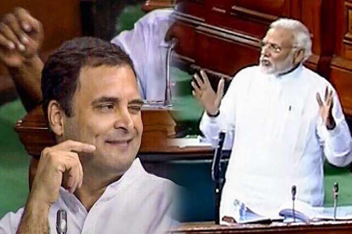 PM मोदी ने पकड़ी कांग्रेस अध्यक्ष की आंखों की हरकत, कहा- राहुल तो बच्चे हैं जी- Khabar IndiaTV