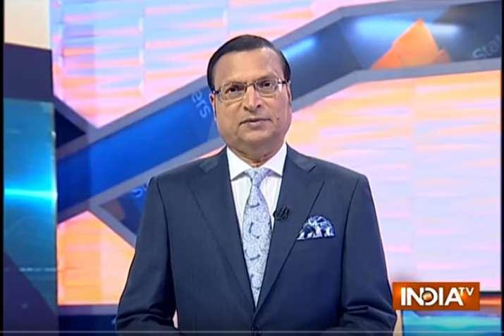 Rajat Sharma Aaj Ki Baat- India TV