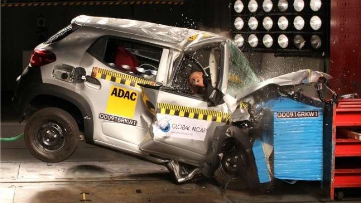 Renault Kwid Crash Test- India TV Paisa