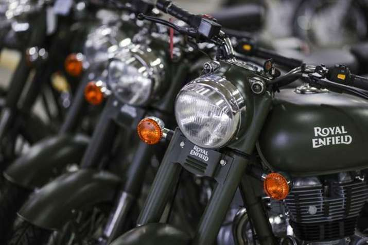 Royal Enfield sale rose 22 percent during April June this year says Eicher Motors - India TV Paisa