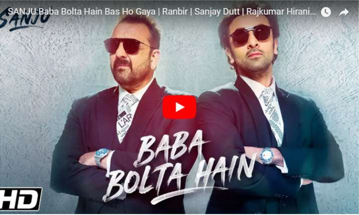 Sanju- Baba Bolta hai- India TV