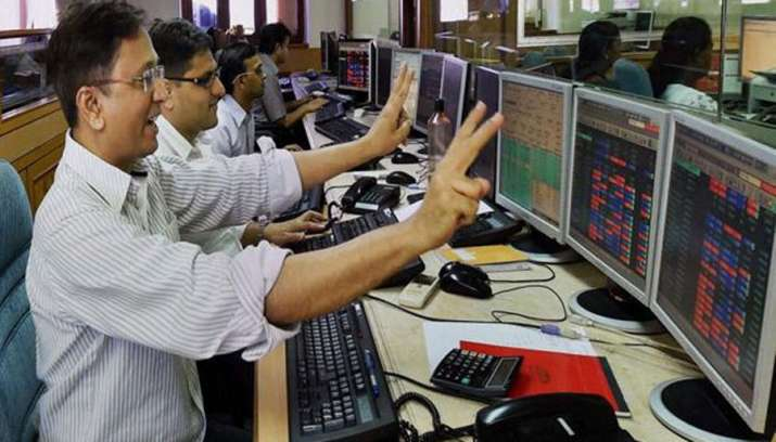 Sensex touches new record high while Nifty surpasses 11000 level on Thursday- IndiaTV Paisa