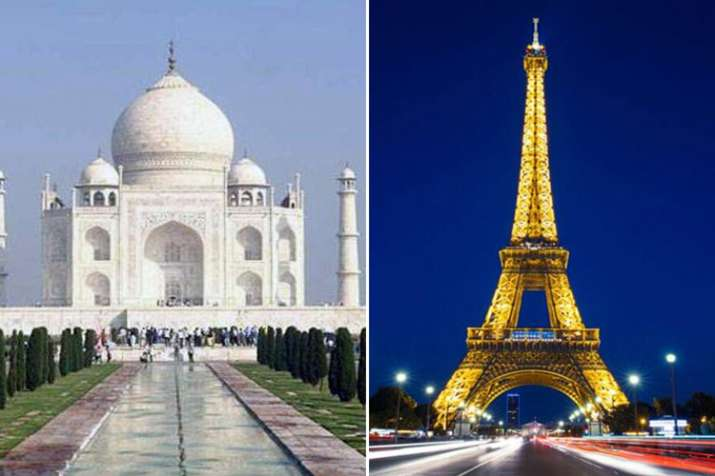 Eiffel Tower nothing compared to Taj Mahal but draws eight times more crowd- Khabar IndiaTV