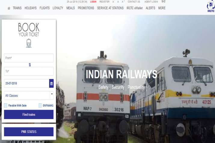 Irctc - India TV