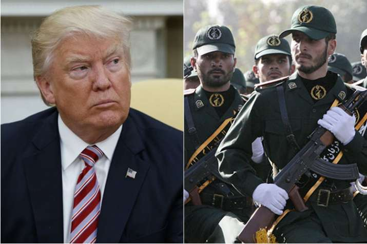 Donald Trump cannot do a damn thing against Iran, says Revolutionary Guard | AP- India TV