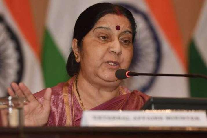 Sushma Swaraj to visit Bahrain on Saturday- India TV