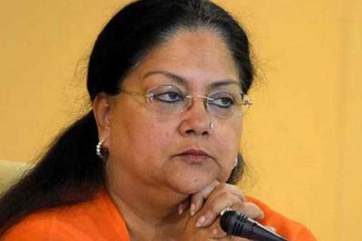 Vasundhara Raje 40-day Suraj Gaurav Yatra will start...- India TV