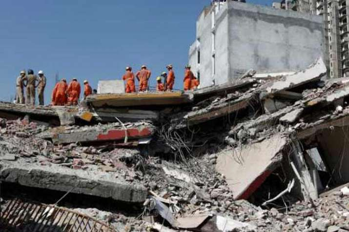 After Greater Noida Building Collapse Case Against 74...- India TV