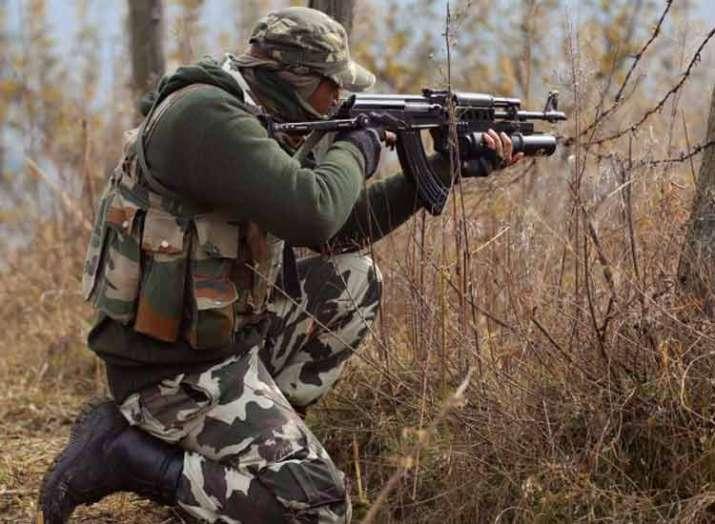 1 terrorist has been killed in forest area of Kupwara...- India TV
