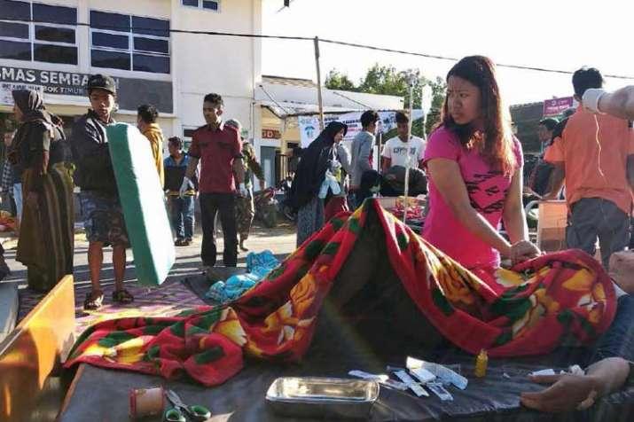 6.4 magnitude earthquake hits Lombok island of Indonesia...- India TV