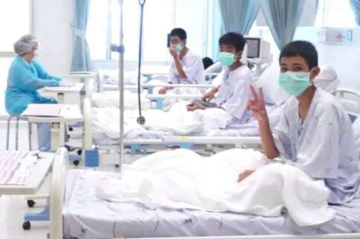 Thailand Children rescued from cave today will be...- India TV