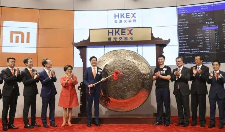 Xiaomi shares fall in Hong Kong trading debut - India TV Paisa