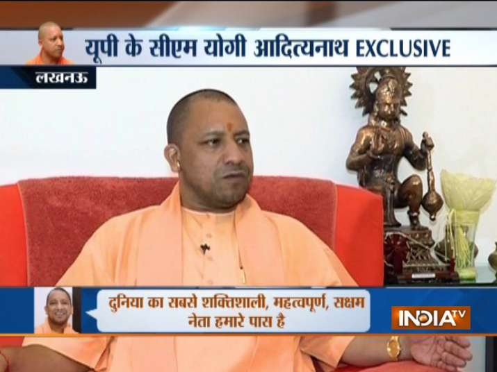 UP CM Yogi Adityanath- India TV