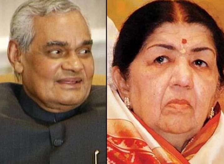 Lata Mangeshkar's soulful tribute to former PM Atal Bihari Vajpayee