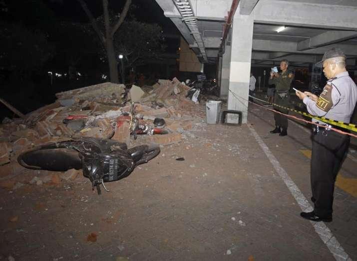 इंडोनेशिया में भूकंप, लोमबोक द्वीप, लोमबोक- India TV