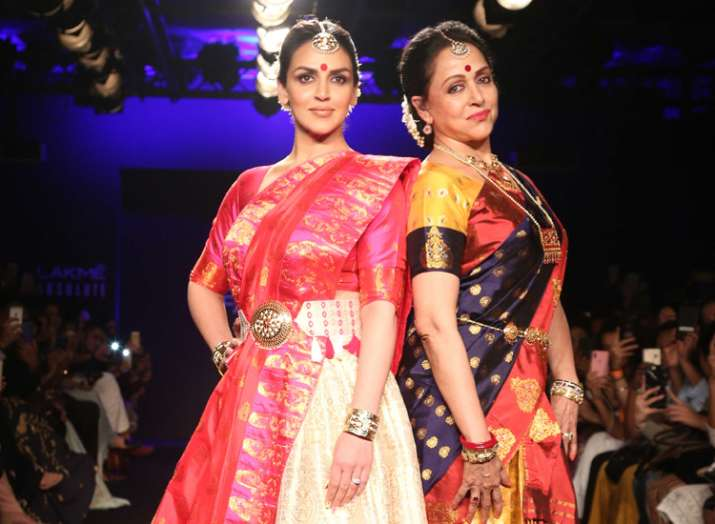 Esha Deol and Hema Malini- India TV