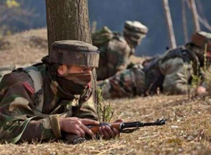 Jammu and Kashmir, Encounter, terrorist- India TV