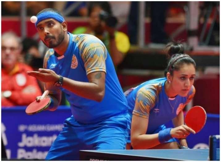 शरत कमल और मनिका...- India TV
