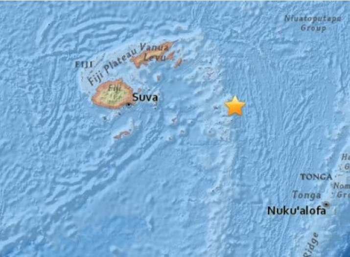 फिजी में भूकंप के तेज झटके- India TV