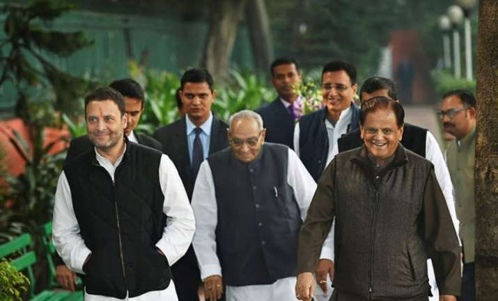 Rahul Gandhi has appointed Ahmed Patel as new Treasurer of AICC- India TV