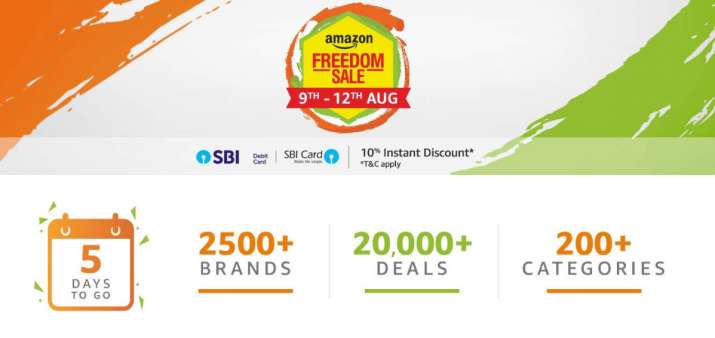 amazon freedom sale- India TV Paisa