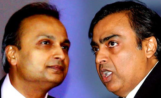 Anil Ambani & Mukesh Ambani- India TV Paisa