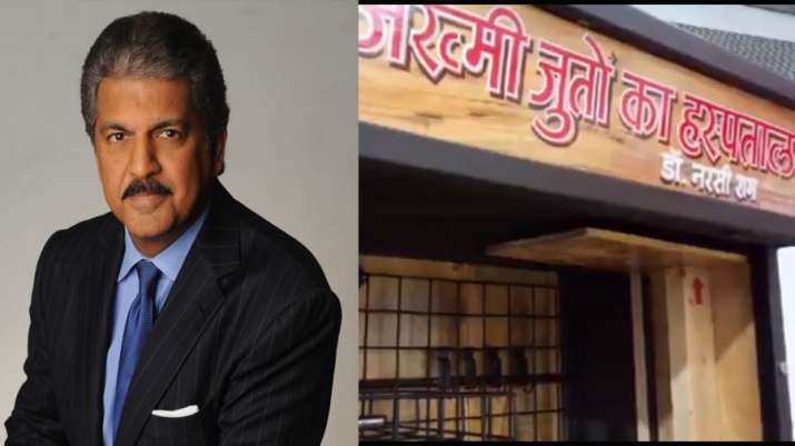 Anand Mahindra's team will deliver in house designed kiosk to Jind cobbler Narsi Ram- India TV Paisa
