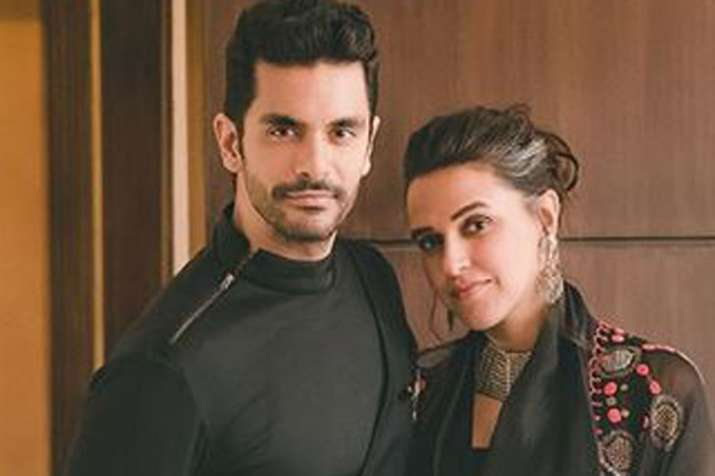 Angad Bedi, Neha Dhupia- India TV