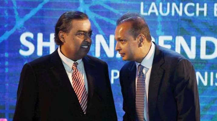 Anil and Mukesh Ambani- India TV Paisa