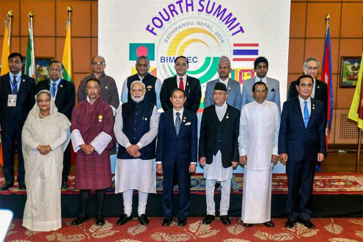 PM Narendra Modi holds bilateral talks with leaders of Thailand, Myanmar and Bhutan | PTI- India TV
