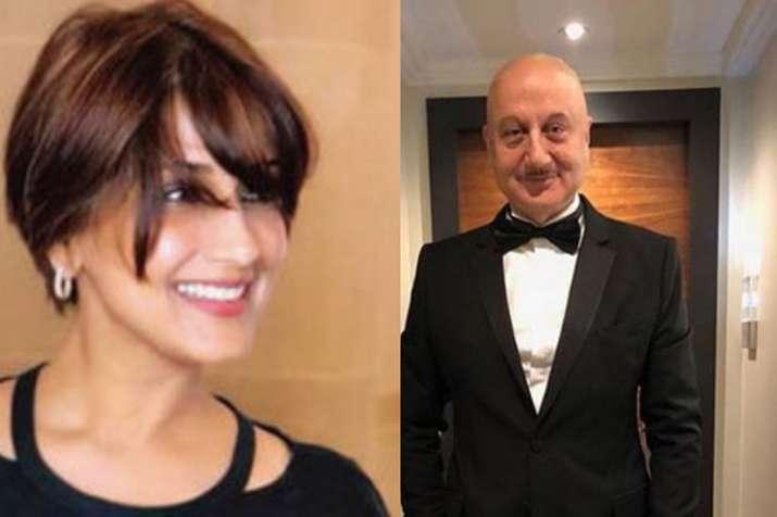 Sonali Bendre, Anupam Kher- Khabar IndiaTV