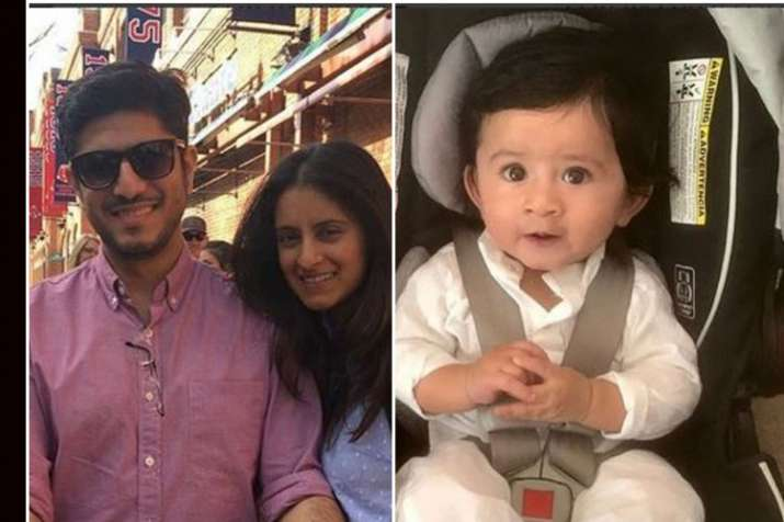 Mihika Varma, Anand Kapai and their son- India TV