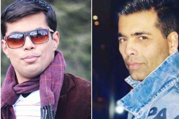 Karn Johar Look alike and Karan Johar- India TV