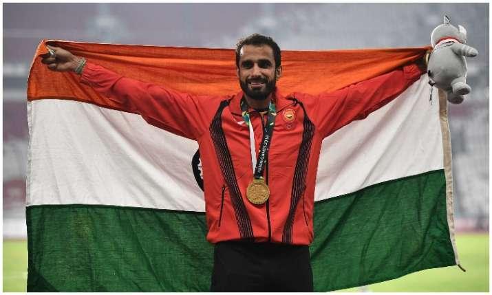 Manjit Singh wins gold in Asian Games 2018- India TV