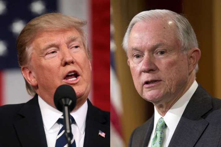 Donald Trump launches fresh attack on Jeff Sessions   AP- India TV